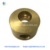 Connecteur en laiton de usinage de fraisage de bloc en métal de précision avec le prix usine