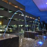 Fuco ao ar livre Laminar Jet Water Fountain