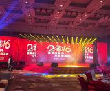 Farbenreiche bekanntmachende LED-Bildschirmanzeige P4 für Innen