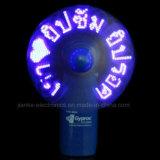 Los ventiladores programables del mensaje el contellear del LED con insignia imprimieron (3509)