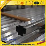 6063 de aangepaste Geanodiseerde Buis van het Aluminium van de Pijp van het Aluminium van het Profiel van de Deklaag van het Poeder