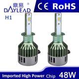 Philips 칩을%s 가진 새로운 디자인 48W LED 헤드라이트
