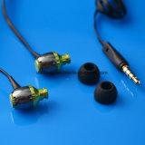 형식 금속 이어폰이 에서 귀 마술 건강한 헤드폰 평면 케이블에 의하여