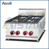 Contre- friteuse du gaz de gueulard Gh585 de matériel de restauration