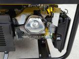 5.0 des elektrischen des Anfangsp Kilowatt Typ-beweglicher Benzin-Generator mit vier Rädern