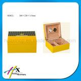 Glatte Ende-handgemachte hölzerne Luxuxzigarre-verpackenkasten