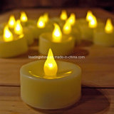 Velas con pilas de Cr2032 LED Tealight para Wedding la decoración del hogar del partido de Chirsmas