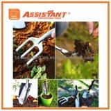 Комплект садовничая инструментов включая соколок, Transplanter, рыхлитель, полольщицу, вилку Weeding