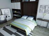 Rotierendes doppel-wandiges Bett mit Bücherregal