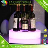 Bandejas impermeables iluminadas LED de la porción del plástico LED de la bandeja de la fruta para la cerveza
