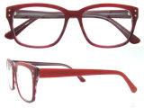 Il monocolo su ordinazione di marchio incornicia l'acetato Handmade Eyewear di vetro nudi di modo