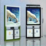 태양 에너지 옥외 광고 가벼운 상자를 광고하는 옥외 사용