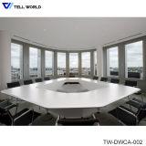 인공적인 대리석 돌 사무용 가구 12 사람 회의장