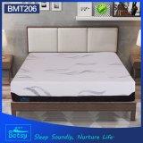El OEM comprimió el colchón fino los 32cm de la espuma altos con espuma hecha punto de la onda de la cubierta y del masaje de la cremallera de la tela