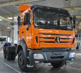 Beiben V3 6X4 2642 LKW-und Schlussteil-heißer Verkauf des Traktor-420HP in Mali und im Kongo