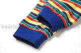女の子の有機性綿の方法普及した子供の長い袖のパジャマのスーツ