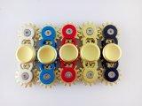 Hilandero juguetón de Fidge del metal de la mano de cinco colores