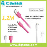 1,2 m Mfi Cable para iPhone5 / 6/7 Quick cable de carga 8pin