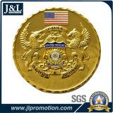 주물 아연 합금 연약한 사기질 동전, 고객 디자인을 정지하십시오