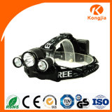 3 Xml T6 LED Bulb Ultra Bright Rechargeable Aluminium Bicycle Light Headlamp LED rouge Head Head Torch