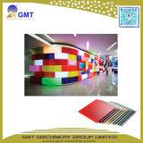 Tarjeta del color del plexiglás del plástico PMMA/máquina de extrudado de acrílico del panel