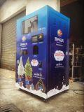 作動するベストセラーの柔らかいアイスクリームの自動販売機のアイスクリームの自動販売機の硬貨