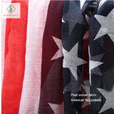 Neue Schal-Amerika-Markierungsfahne gedruckte Dame Scarf der Form-2017 dickflüssige
