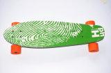 Vier Rad-elektrischer einzelner Bewegungskühles Skateboard