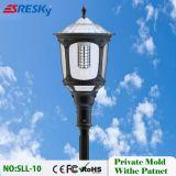 Lumière solaire sans fil de jardin du modèle neuf DEL du type 2017 avec le détecteur de mouvement de PIR à vendre