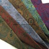 Los estilos de la tela seises de las lanas del telar jacquar alistan/la tela común