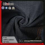 Neues Hotsale! ! Schwarzes Baumwolldenim-Gewebe der Farben-Dame-Jeans Garment Thin Light-blue 100