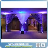 A tubulação indiana do casamento e drapeja a decoração oriental das cortinas