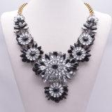 형식 화려한 가득 차있는 모조 다이아몬드 다이아몬드 수정같은 디자이너 계산서 숨막히게 하는 것 목걸이 보석
