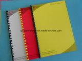 Cubierta de libro superior de escuela del PVC de la cubierta del atascamiento de la hoja del PVC de Quanlity