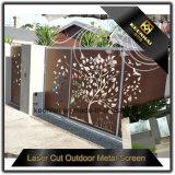 Загородка сада виллы декоративной силы цвета Coated алюминиевая