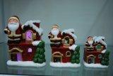 Varios Estilo Craft titular de Navidad de la vela para el hogar