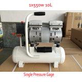 550W 10L 230V leiser ölfreier Schrauben-Luftverdichter
