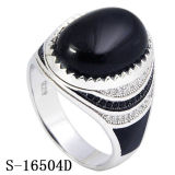 Nuovi anello d'argento dei monili di arrivo 925 con granato CZ