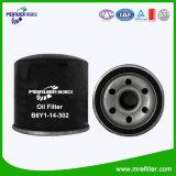 Высокий патрон B6y1-14-302 фильтра для масла Mazda Filterability