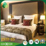 Jogo de quarto de cristal da madeira contínua do estilo da mobília do hotel (ZSTF-25)