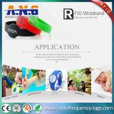 13.56MHz RFID SilikonWristbands für Sauna-Bad-Mitte