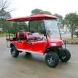Новой модели 6 пассажира электрическая звероловства тележка 2017 гольфа для села праздника