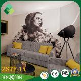 Europäische klassische Art der Furnierholz-Hotel-Schlafzimmer-Möbel eingestellt (ZSTF-14)