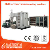 Machine van uitstekende kwaliteit van de Deklaag PVD van het Titanium van de Producten van het Roestvrij staal de Gouden
