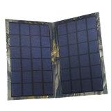 Saco portátil ao ar livre que dobra o carregador do painel 6W solar para o iPhone 6 7 Smartphone