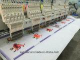 Cap&Textile computergesteuerte Stickerei-4 Maschine der Kopf-industrielle 3D&Flat&