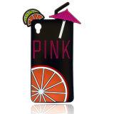 Wekzeugspritzen-Form-lustiger Silikon-Telefon-Kasten für Handy