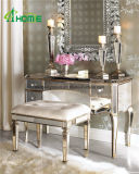 Factory Direct Antique Golden Color Mirror Dresser Table