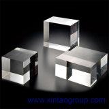 Nuevo material como PMMA o MMA inyectado o molde como la hoja de acrílico o placa de PMMA que se utilizarán como el rectángulo del anuncio o material fijo de la construcción