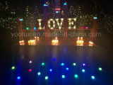 Cartas de luz LED de marquesina letras decorativas luces de marquesina Carta, la luz LED
